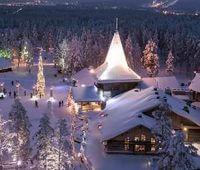 Donde Vive Santa Claus?
